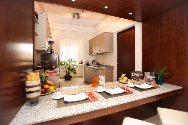 cuisine appartement luxe paradis plage