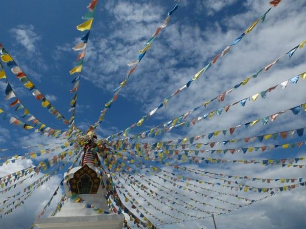 Drapeaux tibétains